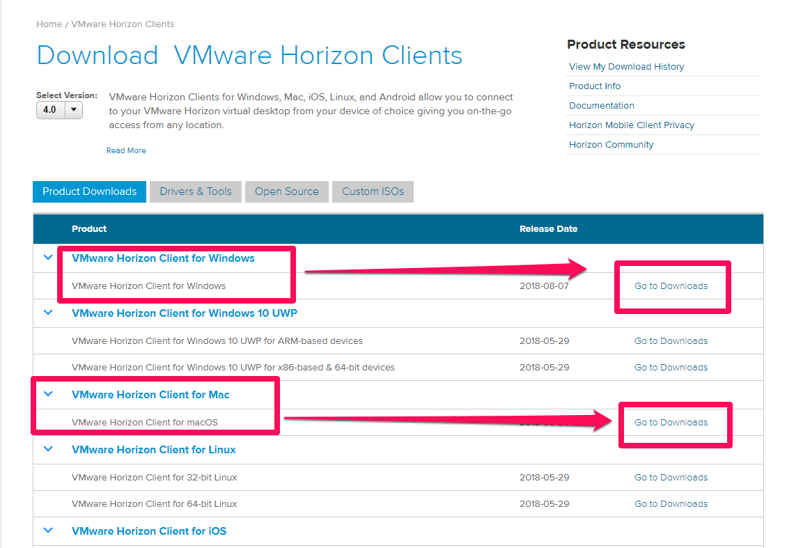 Download mac os for vmware